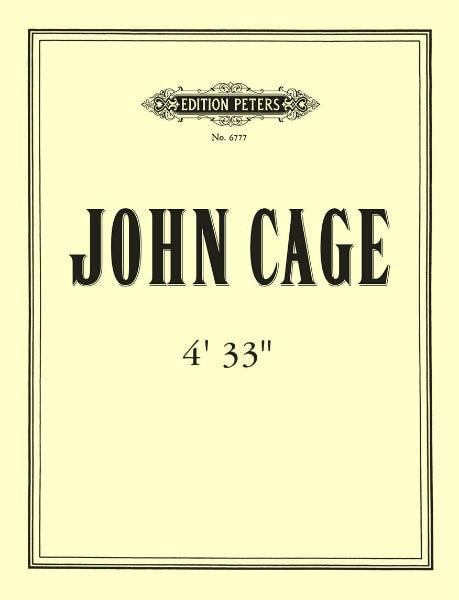 John Cage's Four thirty-three