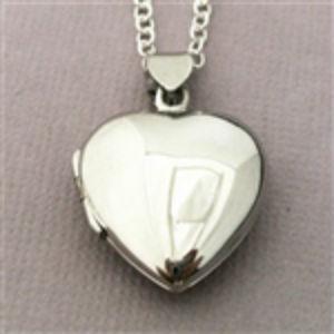 Smooth Heart locket